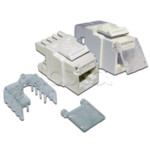 Аксессуар для сетевого оборудования LANMASTER LAN-OK45U5E/90N-WH