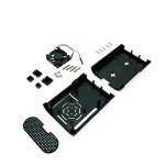 Платформа для ПК Raspberry Pi PI4 с вентилятором и радиаторами