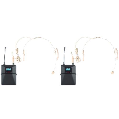 Аудиоконференция ITC радиосистема + 2 головных микрофона T-521US (T-521US)