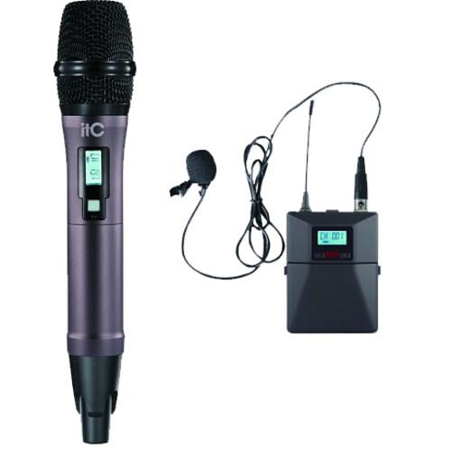 Аудиоконференция ITC Приёмник + 1 петличный +1 ручной микрофоны (T-521UT)