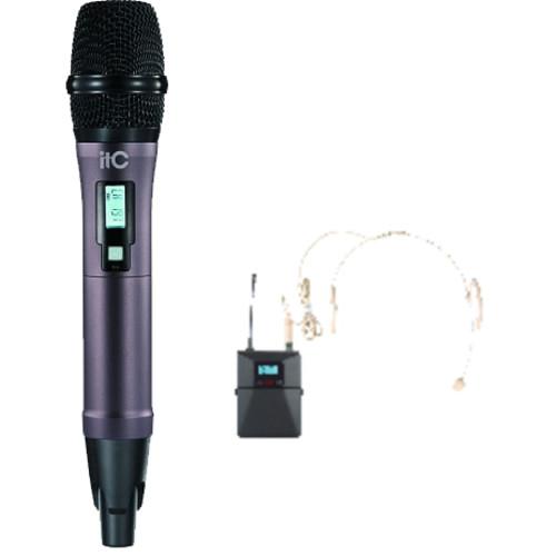 Аудиоконференция ITC Приёмник + 1 головной +1 ручной микрофоны T-521UV (T-521UV)