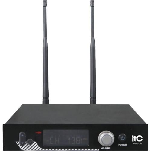Аудиоконференция ITC Приёмник + петличный микрофон T-530B (T-530B)
