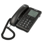 Аналоговый телефон Ritmix RT-490 - Black