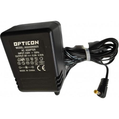 Опция к POS терминалам Opticon Блок питания для IRU-2700 9V 0.5A A50200N0020 (A50200N0020)