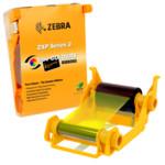 Расходный материал Zebra Красящая лента YMCKO для ZXP3, 280 отпечатков